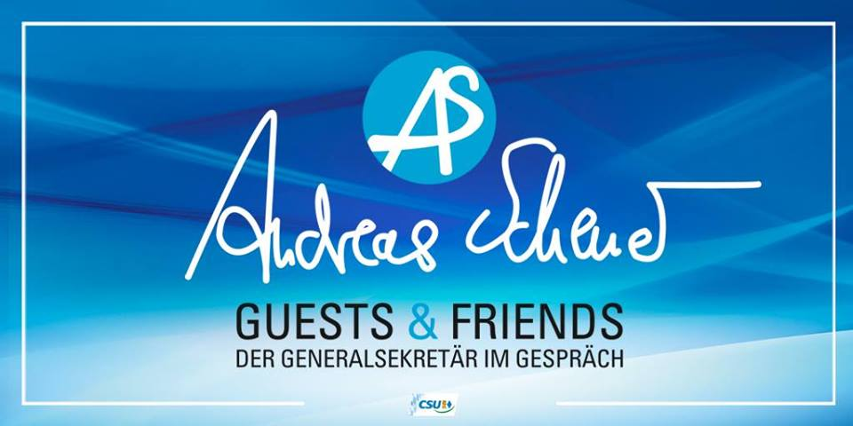 """Andreas Scheuer – Guest & Friends"" in Lappersdorf"